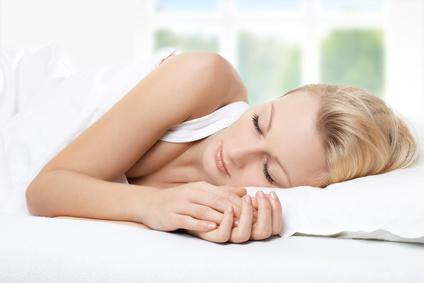 zdravý spánek, spát do růžova